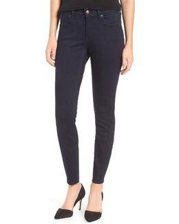 Ami Raw Hem Stretch Skinny Jeans