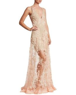 Sidney Lace Gown