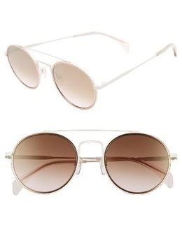 53mm Round Sunglasses