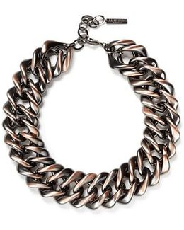 Reversible Chain Link Necklace