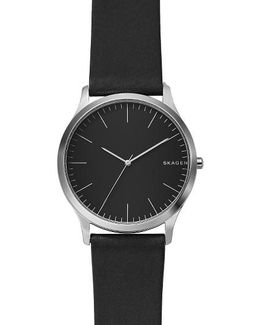 Jorn Leather Strap Watch