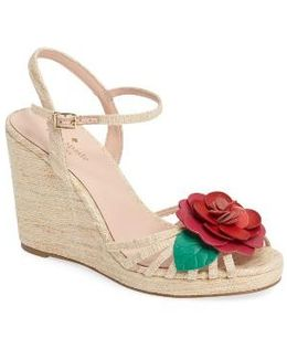 Beekman Strappy Wedge Sandal