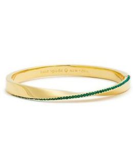 Do The Twist Pave Bangle