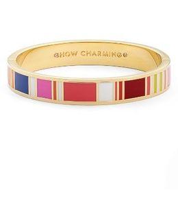 Idiom Bangle Bracelet