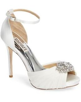 Tad Ankle Strap Pump