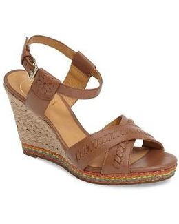 Abbey Wedge Sandal