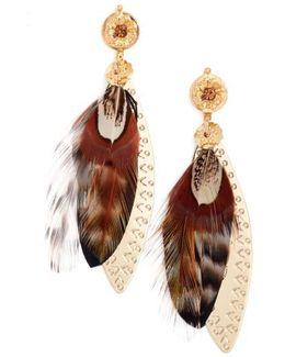 Large Sao Drop Earrings