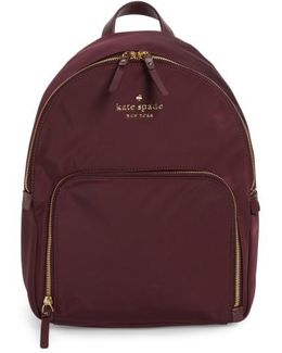 Watson Lane - Hartley Nylon Backpack - Purple