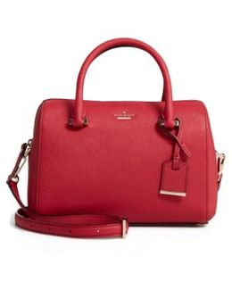 Cameron Street Large Lane Leather Satchel