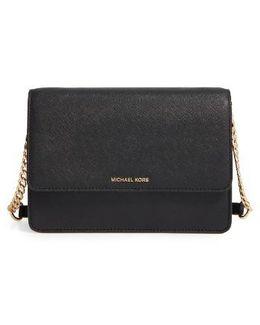 Large Daniela Leather Crossbody Bag