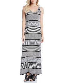 Alana Stripe Maxi Dress
