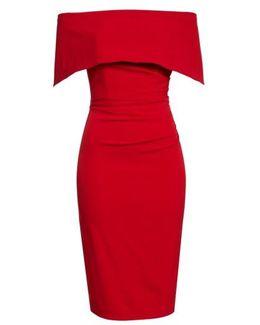 Popover Midi Dress