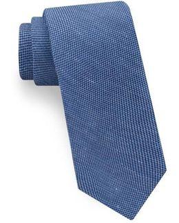 Textured Linen & Silk Tie