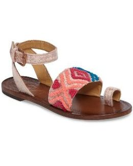 Torrence Ankle Wrap Sandal
