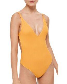 Plunge One-piece Swimsuit