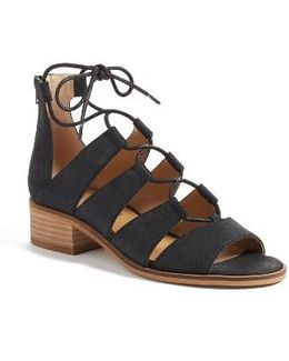 Tazu Lace-up Sandal