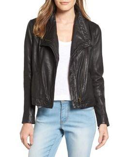 Caslon Leather Jacket