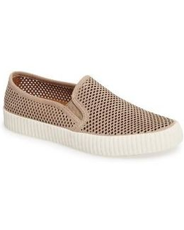 Camille Perforated Slip-on Sneaker