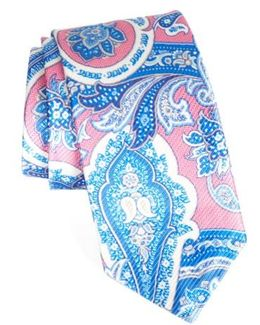 David Donhaue Paisley Silk Tie