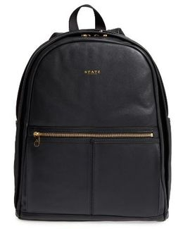 Kent Leather Backpack
