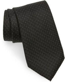 Geometric Silk Tie