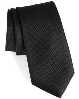 Saturated Dot Silk Tie