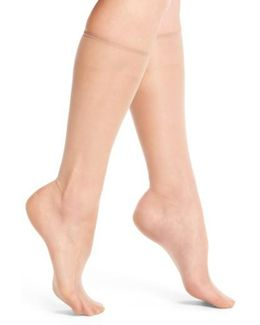 Donna Karan Beyond The Nudes Knee Highs