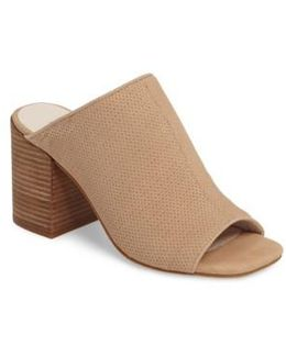 Karolina Perforated Mule