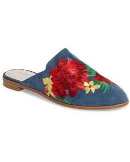 Roxanne Embroidered Mule