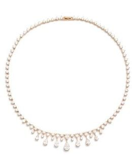 Audrey Crystal Collar Necklace
