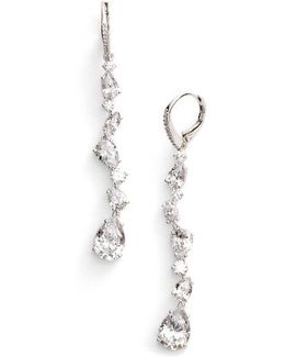 Ava Linear Drop Earrings