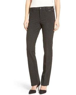 Marilyn Straight Leg Ponte Pants