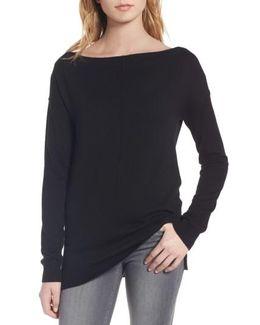 Bateau Neck Sweater