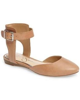 Loranda Ankle Strap Flat
