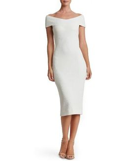 Claudette Textured Dress