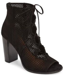 Gabby Perforated Ghillie Lace Sandal