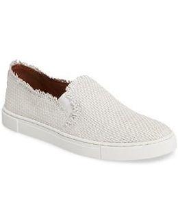 Ivy Fray Woven Slip-on Sneaker