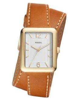 Atwater Leather Strap Watch