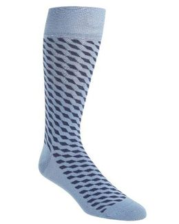 Diagonal Cube Socks