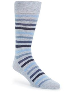 Wave Stripe Socks