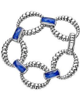 Maya Fluted Link Bracelet