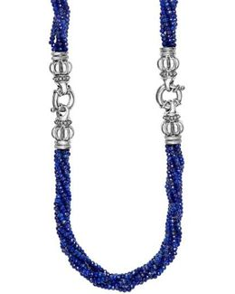 Caviar Icon Bead Convertible Bracelet & Necklace