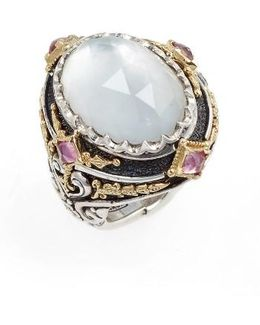 Nemesis Mother Of Pearl Ring