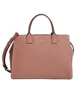 Dunne Lane Lake Leather Satchel