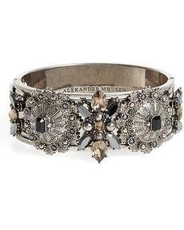 Jeweled Hinge Cuff