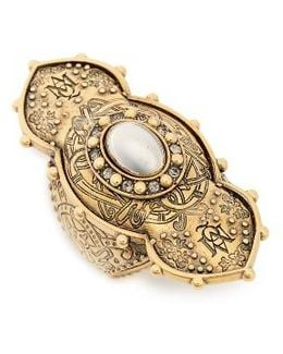 Jewel Oval Ring