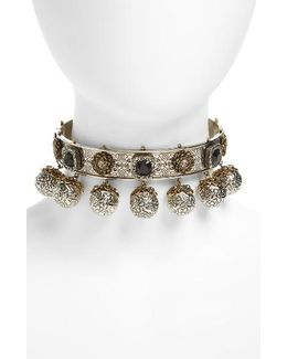 Metallic Sphere Choker
