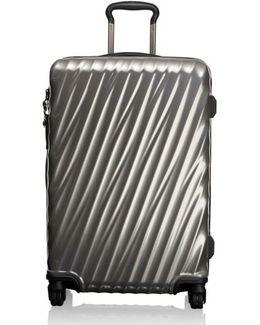 19 Degree 26 Inch Short Trip Wheeled Packing Case - Metallic