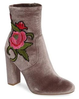 Edition Embroidered Bootie