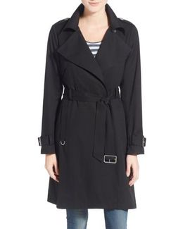 Flowy Belted Trench Coat